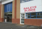 Baileys Blinds Bury St Edmunds Showroom