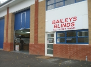 Baileys Blinds Showroom in Bury St Edmunds